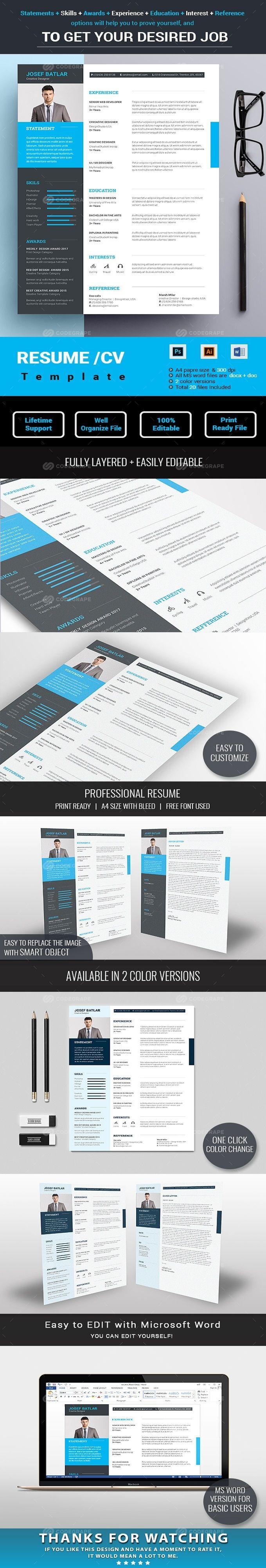 Resume on @codegrape. More Info: https://www.codegrape.com/item/resume/17836