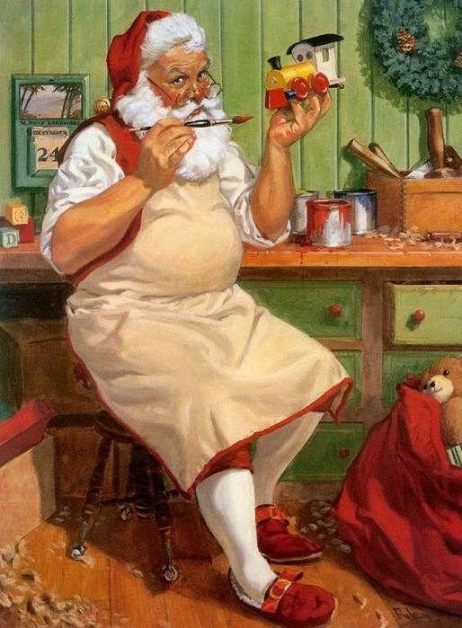 Santa Claus, St. Nick, Father Christmas, Kris Kringle
