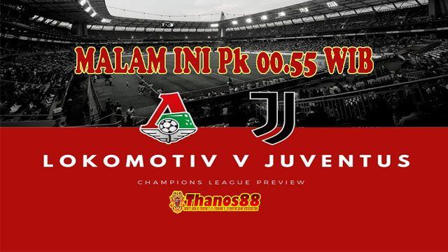 Thanos88bet Prediksi Lokomotiv Moscow Vs Juventus Hari Ini Juventus Mario Ronaldo