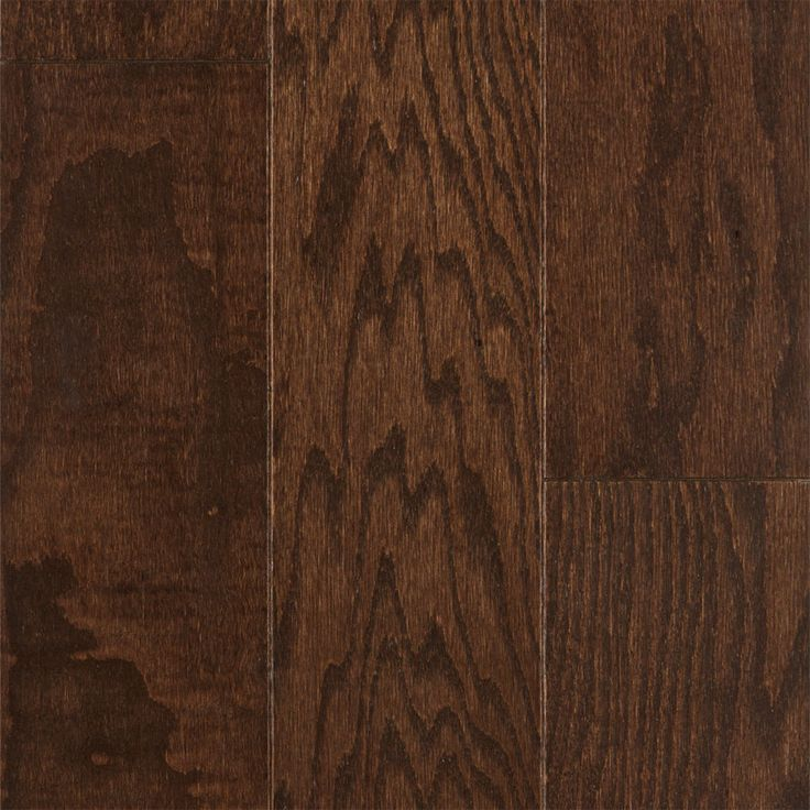 "3/8"" x 3"" Chocolate Red Oak Engineered - Schön by Builder's Pride   Lumber Liquidators"