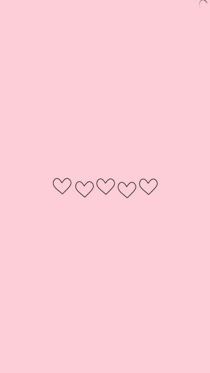 50 Great Sfondo Rosa Con Cuore Tumblr Sfondo