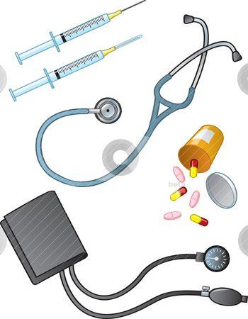 printable of medical supplies | Medical Supplies stock ...