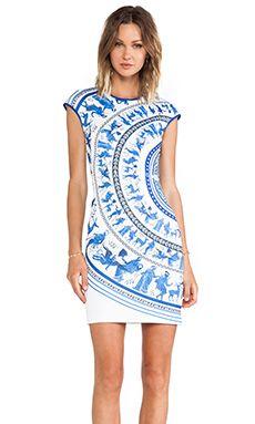 Clover Canyon Corinthian Vase Neoprene Dress in Multi | REVOLVE