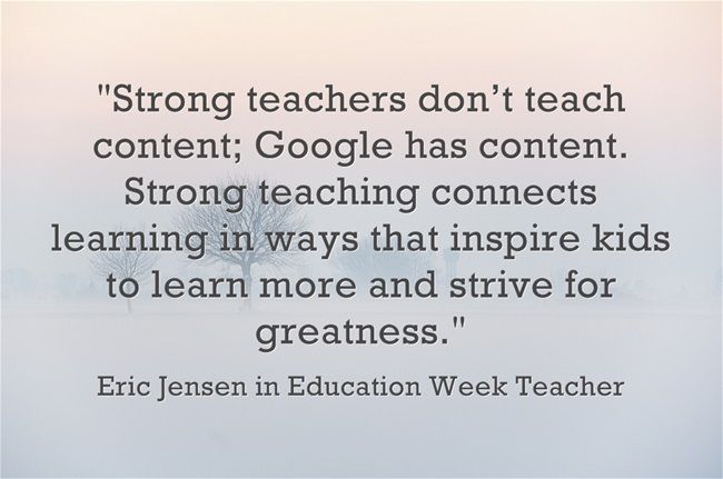 Teaching Quotes Pinterest: Quote From Eric Jensen On Boosting Student Learning
