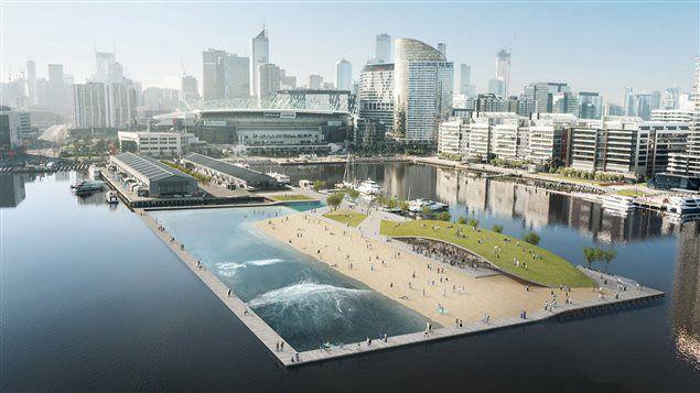 Un projet de piscine flottante dans le Vieux-Port de Montréal | Le 15-18