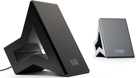 Sonicum speakers based on icon design