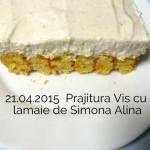 21.04.2015 Vis cu lamaie Simona Alina