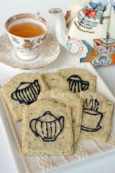 tea pot cookies