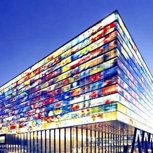THE NETHERLANDS INSTITUTE  FOR SOUND AND VISION. NEUTELINGS RIEDIJK ARCHITECTS.  Instituut voor Beeld en Geluid.