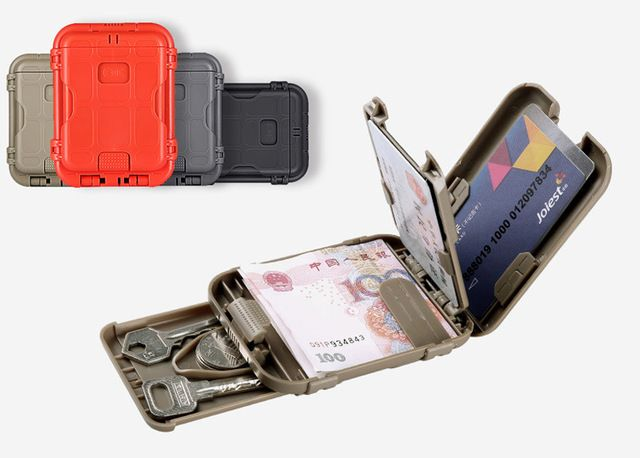 Outdoor Camping EDC  Military Wallet Tactical Multifunction Anti-degaussing Design Protect Gear Portable Travel Kits 4 Colors