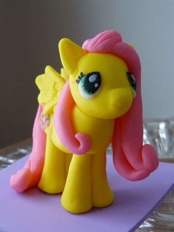 My Little Pony Cake Topper