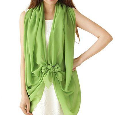 Женский шифоновый шарф, 150х120 см