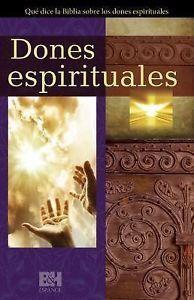 Dones Espirituales, folleto plegable