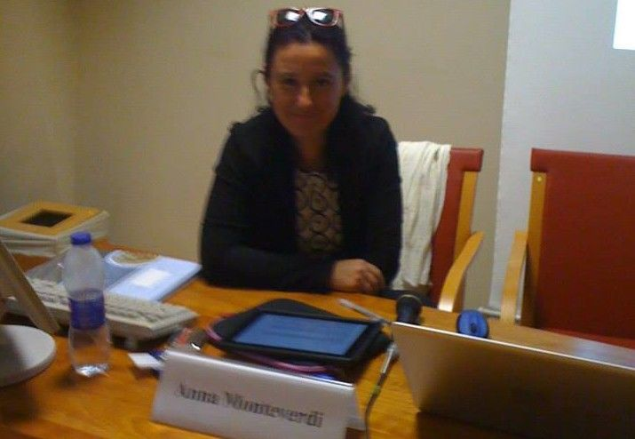 INtervista a Anna MOnteverdi