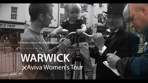 Aviva Women's Tour cycling race & Warwick District Council - Mr Phoebus Penny Farthing Experience