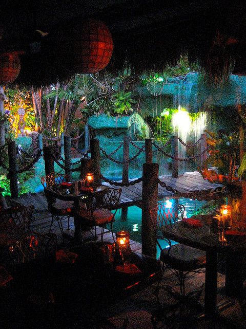 Mai-Kai in Ft Lauderdale...what a neat restaurant!! Would love to go :)