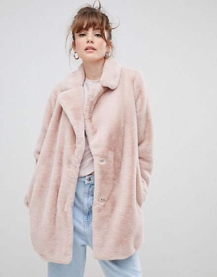 67058bfdd15 New Look Faux Fur Coat