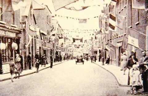 Clanbrassil Street, Dublin 1932.