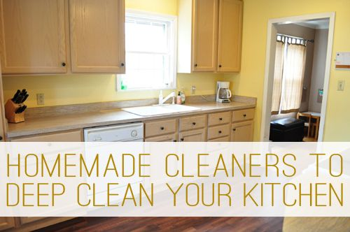 How to Deep Clean Your Kitchen the Green Way at lifeyourway.net