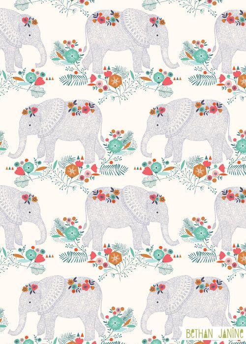 Elephants by Bethan Janine
