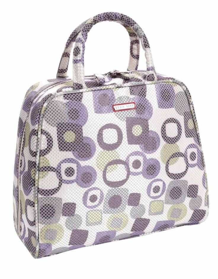 Plenty of room in this retro stylish Beauty Case, so versatile as it has extra individual cases inside so you can pack more in...and you do need to do this ladies. www.rapitupgifts.com.au