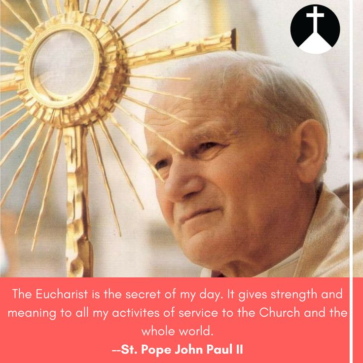 -St. Pope John Paul II- Cross Roads Radio an internet Catholic Radio Station. Check out our website to listen live!