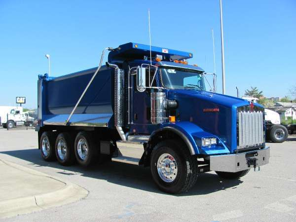 dump trucks for sale | NEW 2014 KENWORTH Dump Truck 800 for sale