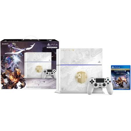 PlayStation 4 500GB Limited Edition Destiny The Taken King Bundle (PS4)