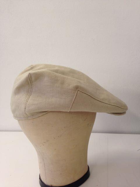 "Summer cap- ""sandstone"" | Serena Lindeman Millinery"
