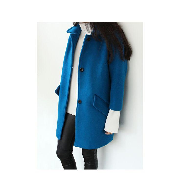 garson single cocoon coat  www.g-r-a-b.com