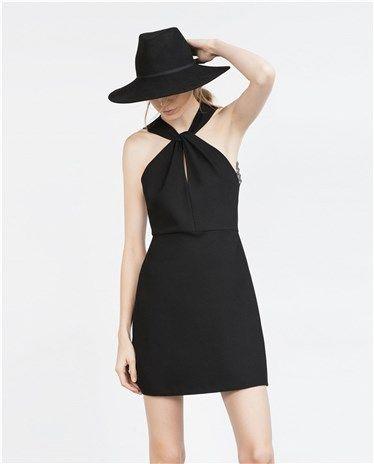 20 vestidos negros para cualquier evento navideño