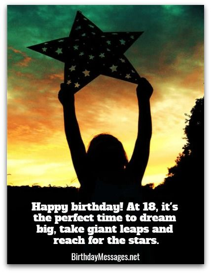 18th Birthday Wishes Birthday Messages For 18 Year Olds Because
