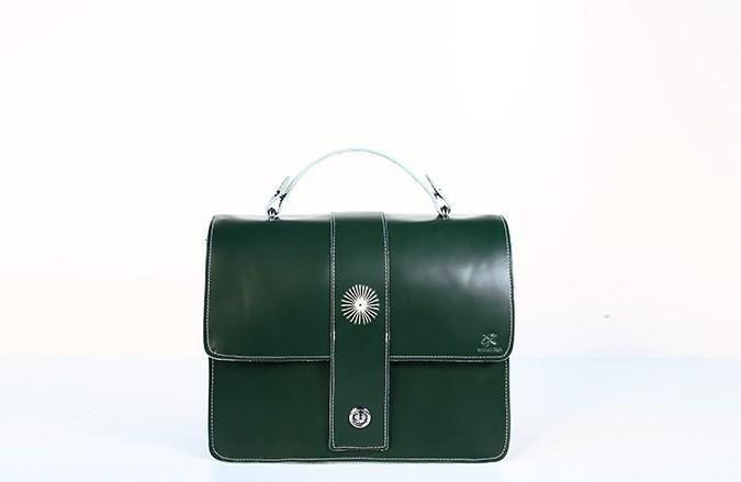 Handmade Leather Cute Shoulder Bag Handbag Purse