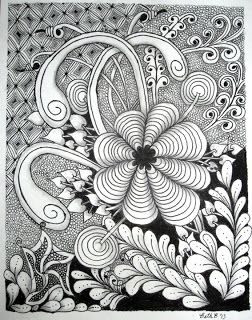 Zentangle: Classes with a CZT