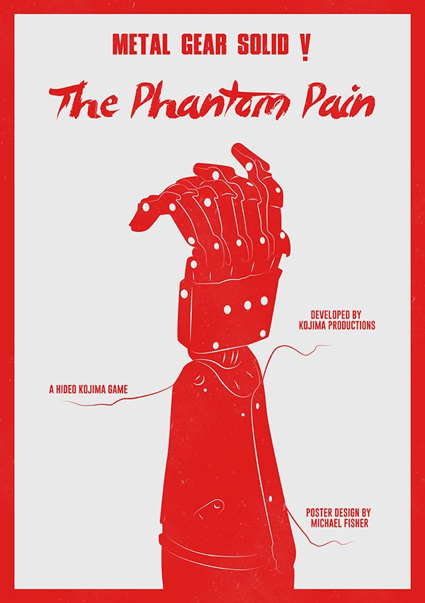 Metal Gear Solid V: The Phantom Pain Poster by michael-fisher-one on DeviantArt