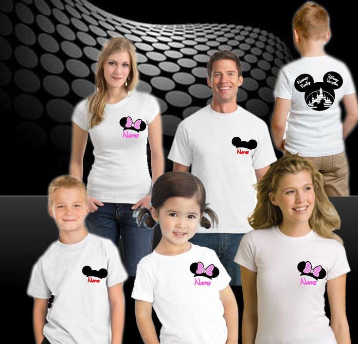 Disneyland Shirt, Disney Family Shirts, disney Cruise, Disney Vacation Shirts, Personalized Disney Shirts, Free Shipping by PinkStarCustomDesign on Etsy https://www.etsy.com/listing/225543120/disneyland-shirt-disney-family-shirts
