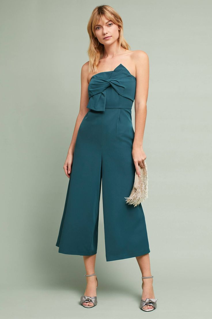 Beatty Strapless Jumpsuit #ad #AnthroFave #AnthroRegistry Anthropologie
