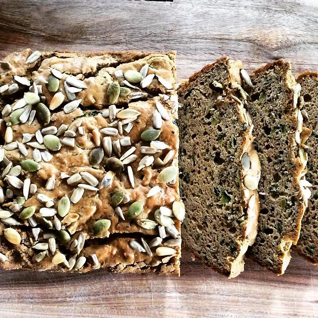Fuel Fit | Grainless Zucchini Loaf