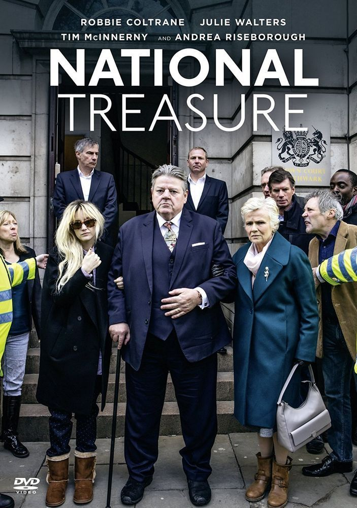 National Treasure - NEW DVD Starring Robbie Coltrane and Julie Walters