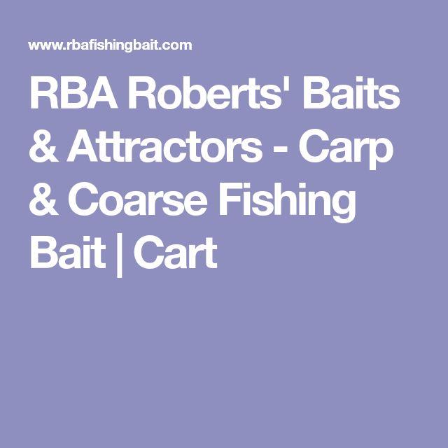 RBA Roberts' Baits & Attractors - Carp & Coarse Fishing Bait | Cart
