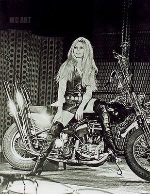 The incomparable Bridget Bardot