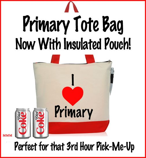 Primary Tote Bag...I can say that this would be an awesome gift for me!