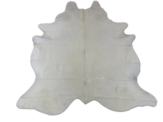 white cowhide rug size 85 x 7 ft huge offwhite cow hide