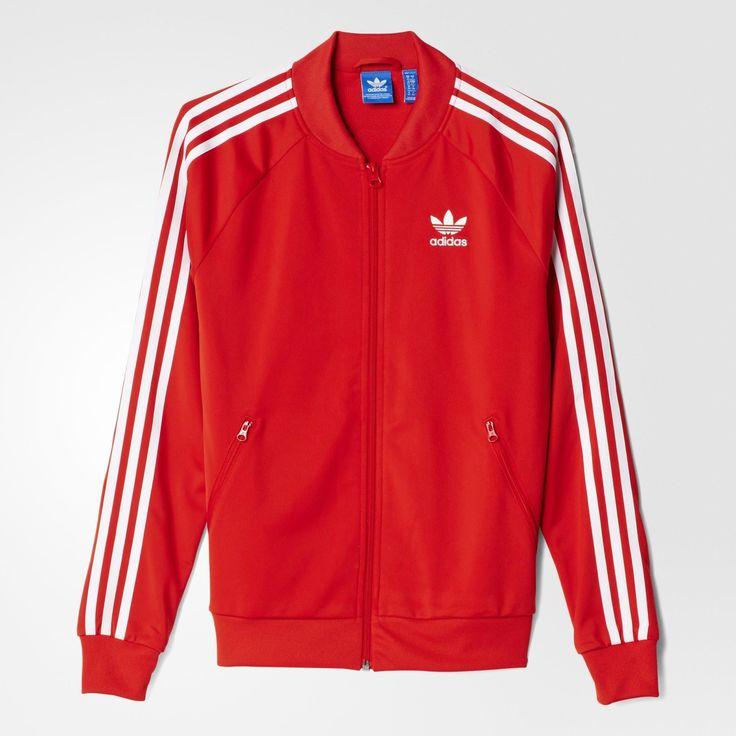 adidas Supergirl Track Jacket - Lush Red S16-St   adidas Belgium