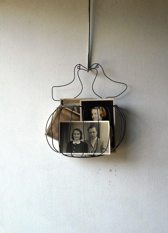 lovebirds wire hanger