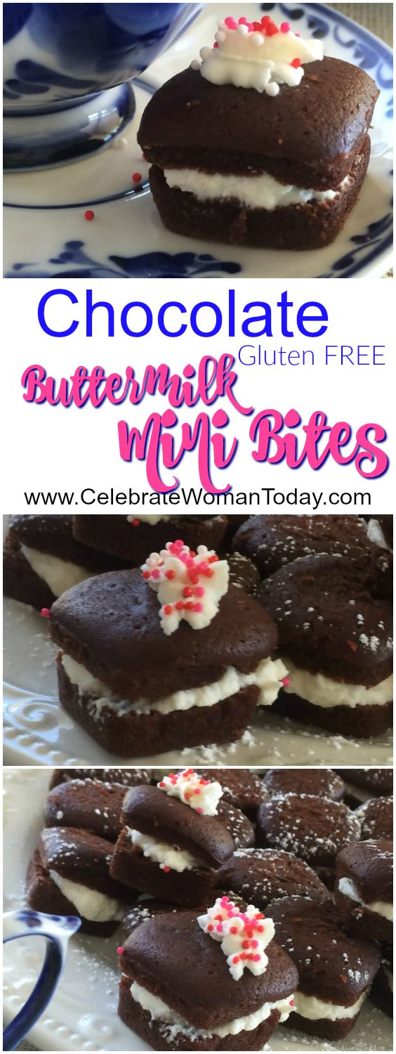 The Gluten FREE chocolate mini bites would surprise you how palatable they are. Soft and luscious, they are a perfect treat for your today's celebration. #RecipeIdeas