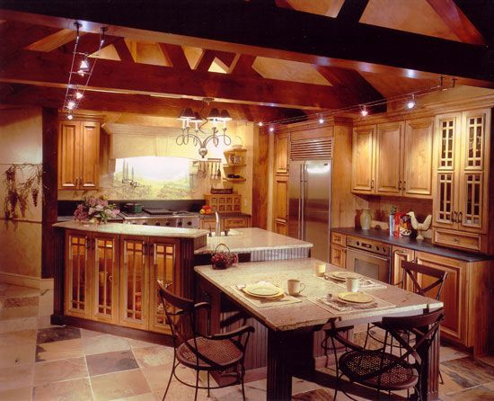 Tuscan Kitchen Design Ideas Furniture For A Tuscan Kitchen Design Use Sturdy Pieces Of