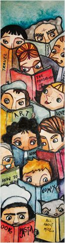 Bookdepository Bookmark competition - TTS Senior Library