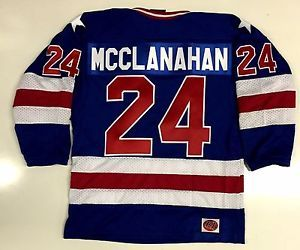 ROB MCCLANAHAN TEAM USA HOCKEY JERSEY 1980 GOLD MEDAL OLYMPICS ...