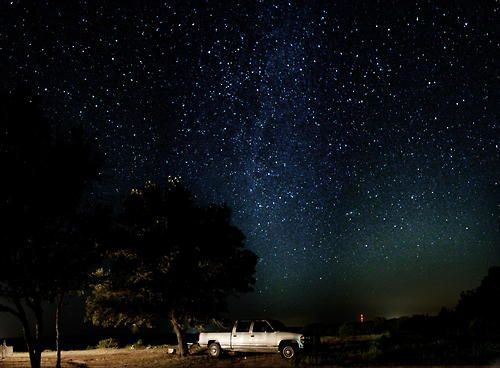 Stargazing Truck By Paul Nicholson